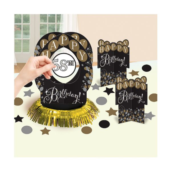 Gold Celebration Table Decoration Kit